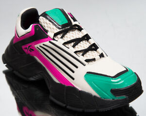 Reebok Classics DMX Series 3000 Men's Alabaster Proud Pink Court Green Sneakers