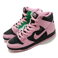 Nike SB Dunk High Pro PRM Invert Celtics Black Pink Green White Men CU7349-001