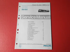 Philips CD930 CD Player orig. Service Anleitung Manual