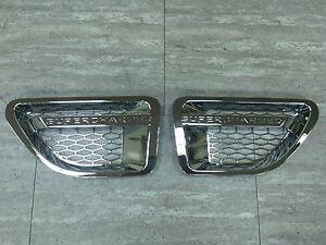 Side Vent Grille Performance Style For 06-09 Range Rover L320 Sport Model CHROME