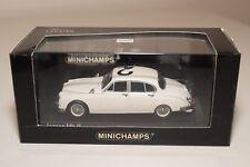 Q MINICHAMPS JAGUAR MKII MK 2 POLICE 1959 WHITE MINT BOXED