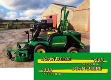 JOHN DEERE 1445 SERIES II 4WD MOWER DECALS SET SPEARS STICKER STRIPE KIT