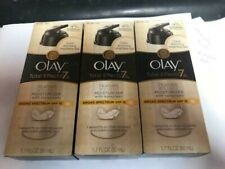 Lot 3 Olay Total Effects 7 In One Feather Weight Moisturizer W/ Sunscreen SPF15