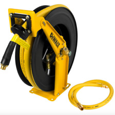 Dewalt 1/2 inch 50 feet Retractable Air Compressor Pneumatic Hose Reel Tool New