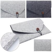 "Universal Woolen Felt Laptop Sleeve Case Bag For 11.6"" 12"" 13.3"" 15"" Ultrabook"