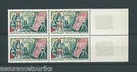 FRANCE - 1962 YT 1343 bloc de 4 - TIMBRES NEUFS** LUXE