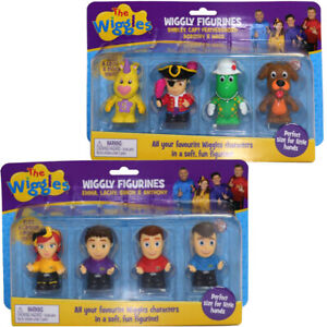 New The Wiggles Wiggly Figurines 4-Pack