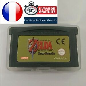 The Legend of Zelda: A Link to the Past + Four Swords (4 joueurs)  GBA