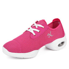 Women Summer Cool Net Mesh Breathable Dance Sneakers Jazz Square Dacnes Athletic