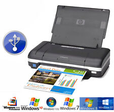 Portátil Impresora HP H470 Sucesor Deskjet 460 USB Mini Printer para Win XP 7 10
