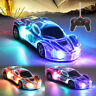 High Speed RC Racing Car Remote Control 3D Light Buggy Toy Kid Christmas Gift AU