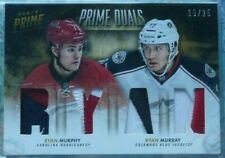 Ryan Murray/Ryan Murphy 2013-14 Panini Prime Duals 4 CLR PATCH /25 Blue Jackets