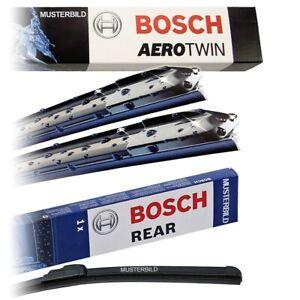 ORIGINAL BOSCH AEROTWIN SCHEIBENWISCHER VO +HECKWISCHER HA VW POLO 6R 6C BJ 09-