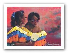 On Parade Limited Edition Gilbert Young African American Art Print 8x11