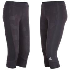 adidas Sporthose Trainingshose 3/4 Hose Damen M schwarz