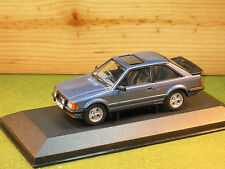 Vanguards VA11010 Ford Escort MK3 XR3 in Caspian Blue no 6 of 1000 1/43rd scale