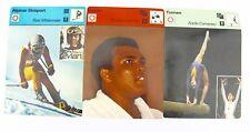 "Editions rencontre s.a. lausana 1977 ""boxeo gimnasia esquí"" ali mittermaier"