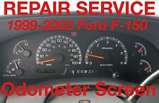 2001 FORD F150 EXPEDITION ODOMETER CLUSTER REPAIR SERVICE 99 00 01 02 03