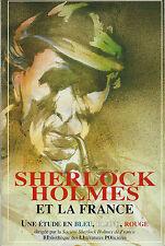 RARE EO ÉTUDES + BIBLIOGRAPHIE DESSINS PASTICHES : SHERLOCK HOLMES ET LA FRANCE