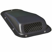 Land Rover Defender Raised Wing Top Air Intake Grill Black Metal Right DA4001