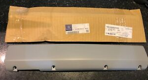 W124 Mercedes Benz Front Bumper License Plate Delete Cover Genuine Rare NOS AMG