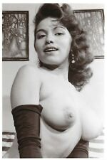 Postcard Risque Nude Topless Naked Lady Woman Erotic Erotism Repro Card W14