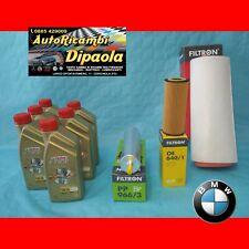 KIT TAGLIANDO BMW SERIE 3 318D 320D 330D E90 E91 E92 E93 6L CASTROL 5W30 +FILTRI