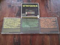 """12"""""""""""""""" 80's Dance - Dead or Alive/Cameo/Wham/Indeep/Rockwell Box 3x Cd Perfetti"""