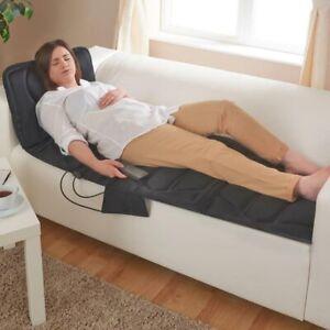 Tappeto Massaggiante Riscaldante Elettrico Materassino Cuscino Massaggiatore