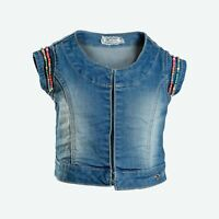 Gilet Jeans Bambina Fun&Fun FUNBWA4482