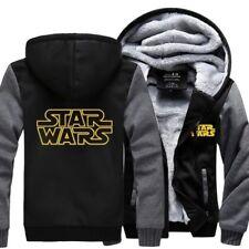 STAR WAR Cosplay Hoodie Coat Winter Fleece Unisex Thicken Jacket Sweatshirts