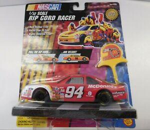 Vintage NASCAR #94 McDonalds Ripcord Racer Car Toy Biz 1997 Never Opened