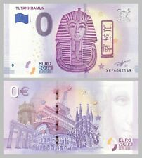 0 Euro Souvenirschein Tutanchamun / Tutankhamun