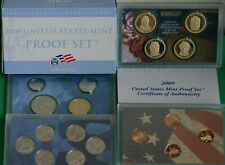 2009 United States Mint ANNUAL 18 Coin Proof Set with 4 Lincoln Bicentennial 1c