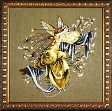 "SALE! COMPLETE XSTITCH KIT ""LILLY OF THE WOODS MD80"" by Mirabilia"