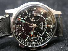 Reloj Cronógrafo Vintage Estilo Militar Sekonda URSS made-RARE-L @ @ K