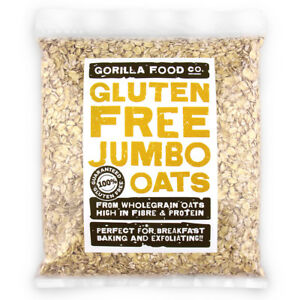 Gorilla Food Co. Gluten Free Jumbo Oats - 400g-3.2kg