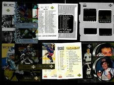 1997-98 1998-99 MCDONALD'S NHL HOCKEY CARD GAME FILM MOMENT WRAPPER SEE LIST