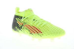 Puma Future 18.2 Netfit FG AG Mens Green Low Top Athletic Soccer Cleats Shoes 13