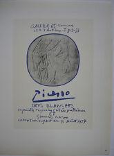 Pablo Picasso Pates Blanches 1957 Orig Lithografie Maitres de l'Ecole 1959