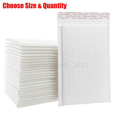 100 Poly Bubble Mailers Shipping Envelopes Self Sealing Mailing Padded Bags Usa