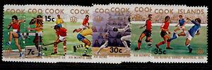 COOK ISLANDS QEII SG547-554, 1976 olympic games set, NH MINT.