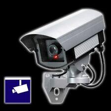 PENTATECH Überwachungs Kamera Attrappe KA 05 Warnaufkleber Camera blinkende LED