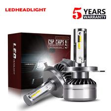 12000LM 60W LED Headlight H4 9003 HB2 CSP Hi/Lo Beam 6000K White Light Bulbs DTJ