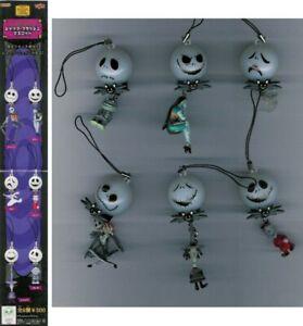 Set 6 Figura Colgantes Con Luz Nbx Nightmare Before Xmas Colgantes YUJIN Japan