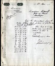 """MONTLUCON & COMMENTRY (03) USINE de CAISSES en BOIS """"G. PERONIN"""" en 1911"""