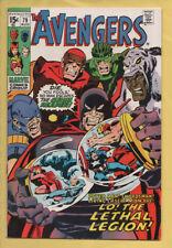 The Avengers #79 August 1970, Marvel, 1963 Series VF