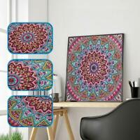 5D-Mandala Diamond Embroidery DIY Craft Painting Cross Stitch Kit Home Art Decor
