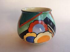Rare Art Deco Grays Susie Cooper Geometric handpainted Vase