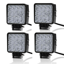 4X 48W Led Work FLOOD Light Off Road 12V/24V Truck 4x4 4WD Boat SUV Jeep tractor